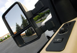 Ford Super Duty mirror
