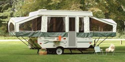 Forest River Rockwood pop-up trailer