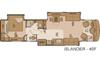 Motorhome floorplan