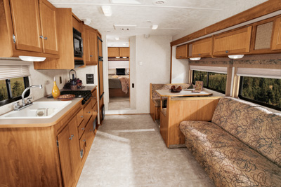 Winnebago Access interior